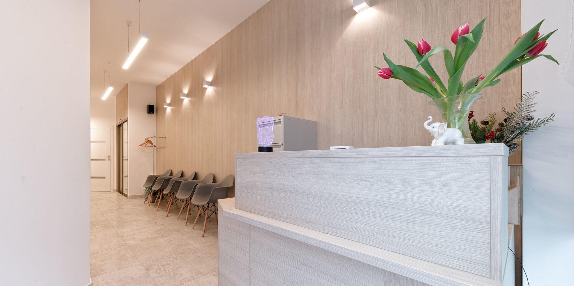 dentysta w warszawie recepcja